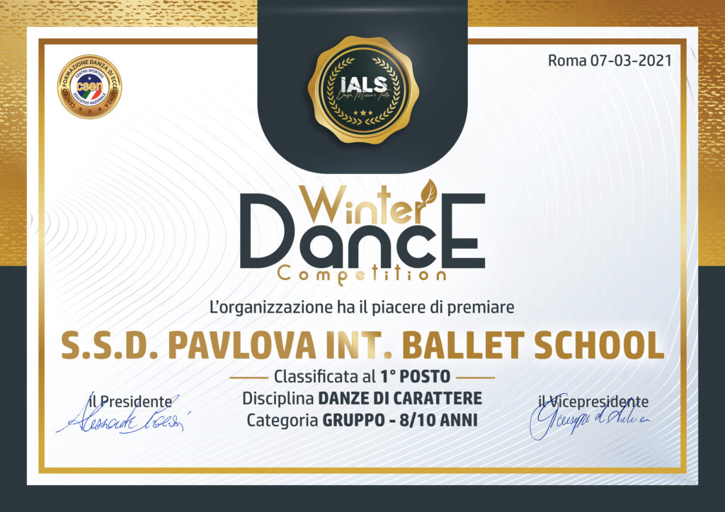 Winter Dance Competition 2021